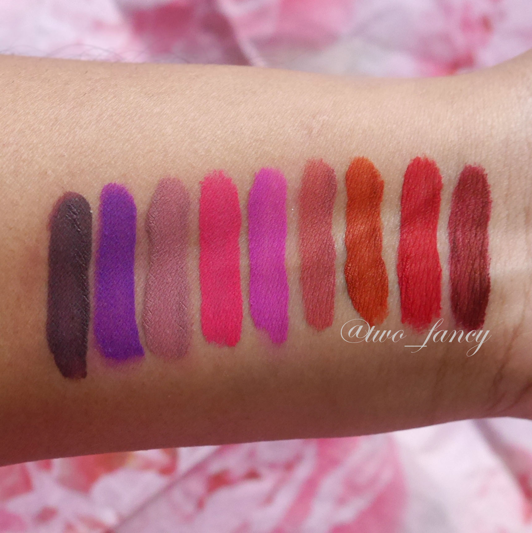 Lime Crime Velvetines Review & Swatches | TwoFancy